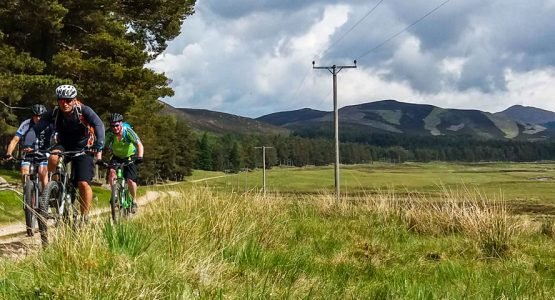 Mountain Biking Across Scotland