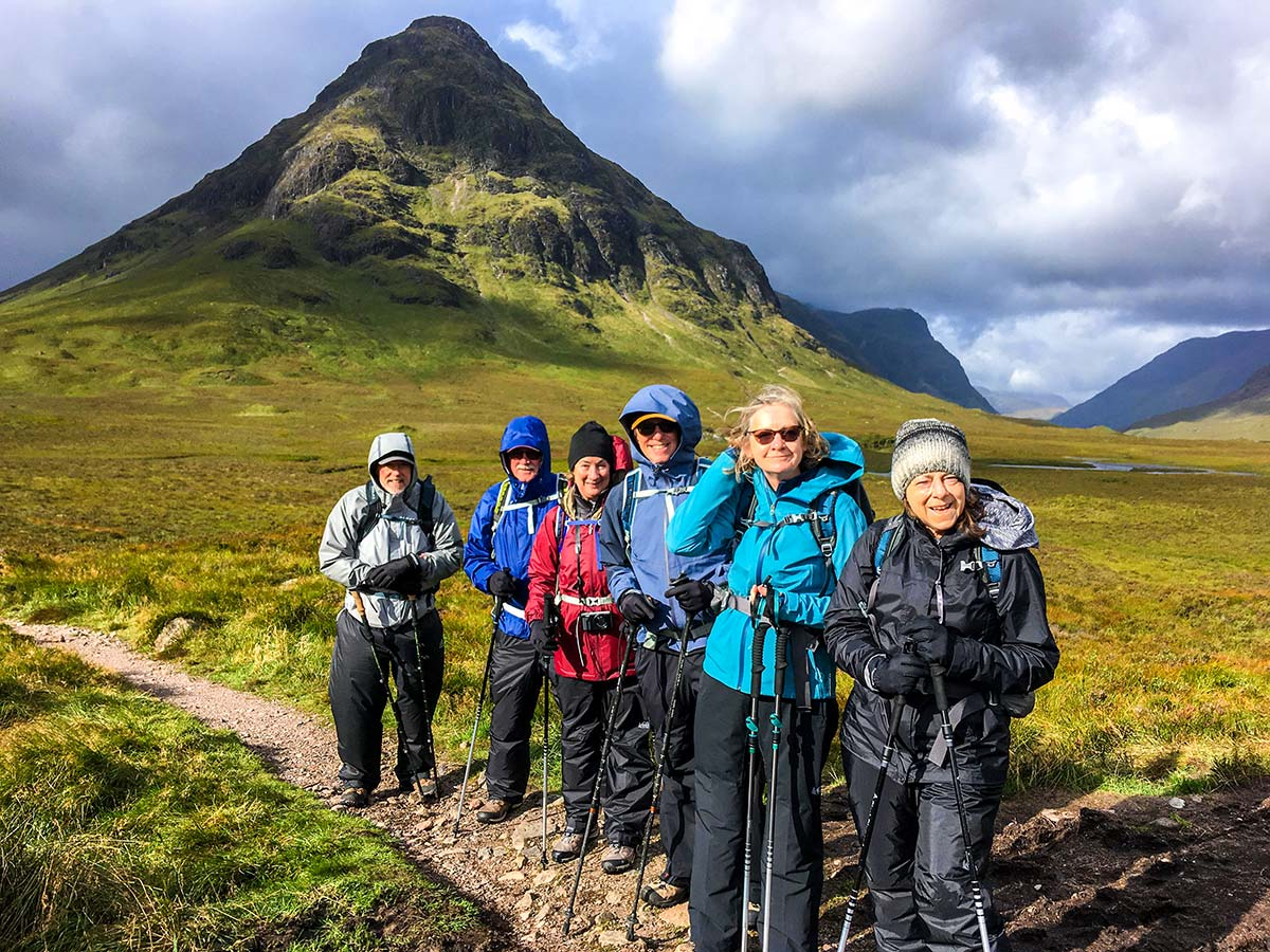 Walking in Glencoe and the Highlands with a guide is a very rewarding experience