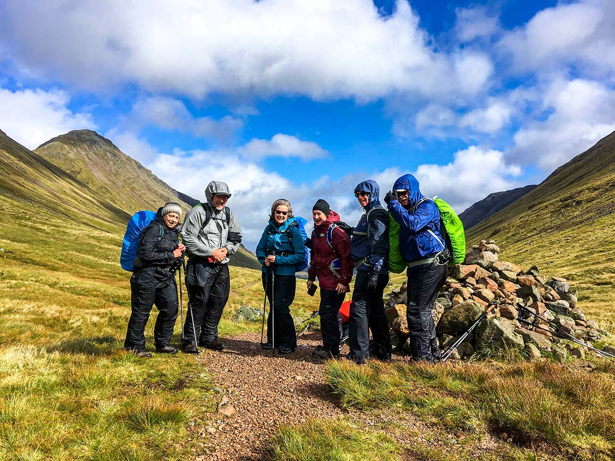 Glencoe and the Highlands walking tour in Scotland with a guide