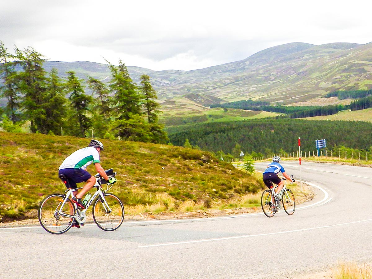 Road Cycling tour from Inverness to Edinburgh is a wonderful tour in Scotland