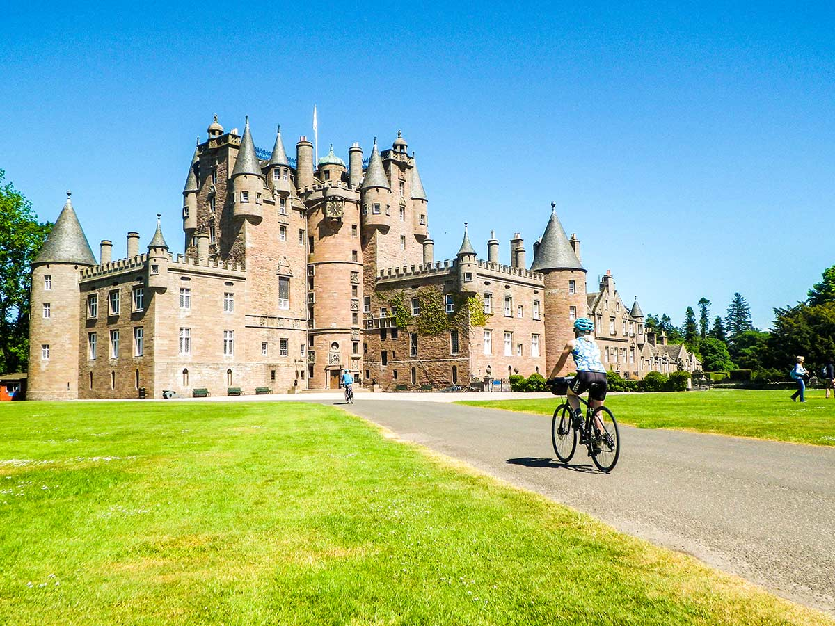 Abbey visited on Road Cycling tour from Inverness to Edinburgh