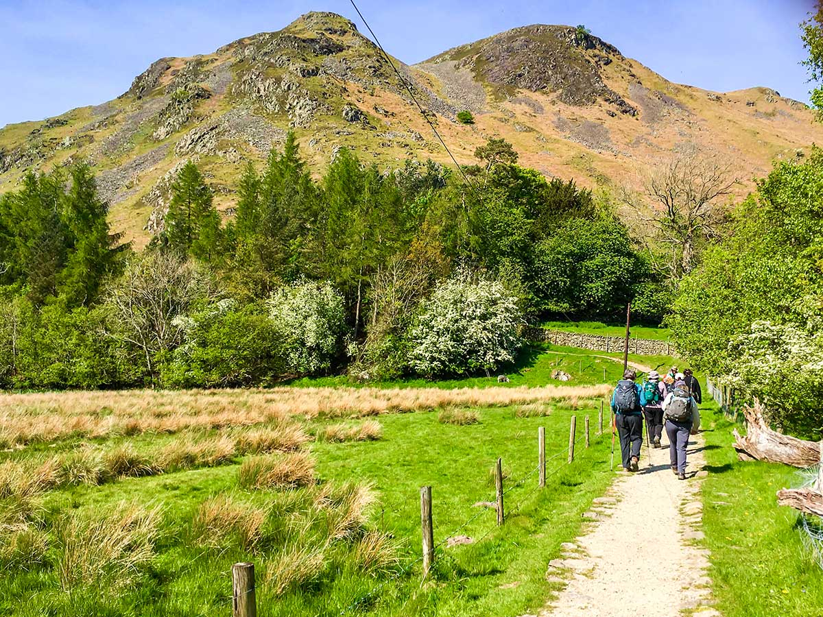 Beautiful views seen on National Parks of the UK Guided Walking Tour in England and Scotland
