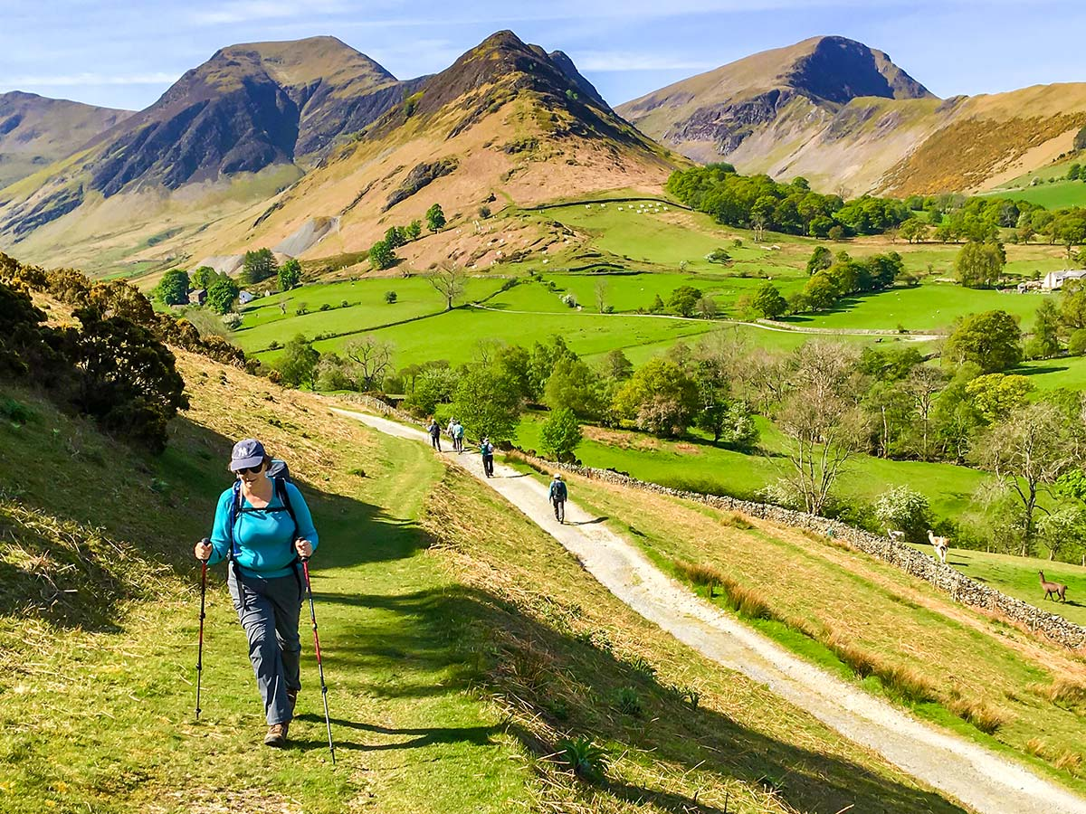 Amazing senery of Scotland Highlands seen on National Parks of the UK Guided Walking Tour