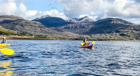 The Scottish Highlands Sea Kayaking Tour