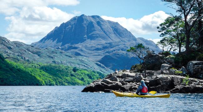 The Scottish Highlands Sea Kayaking Tour