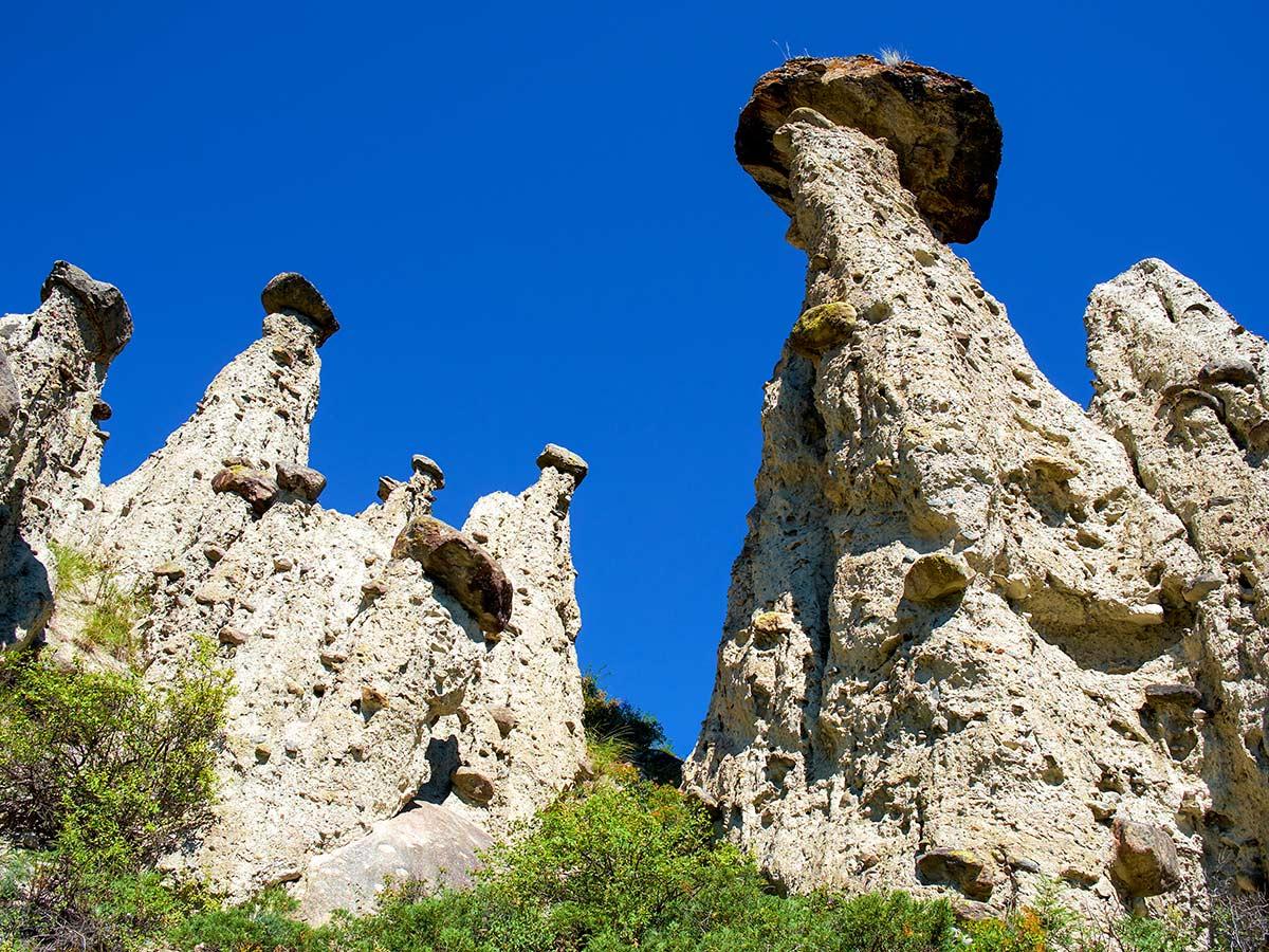 Akkurum rock formations in Altai Republic seen on Golden Ring of Altai Trek