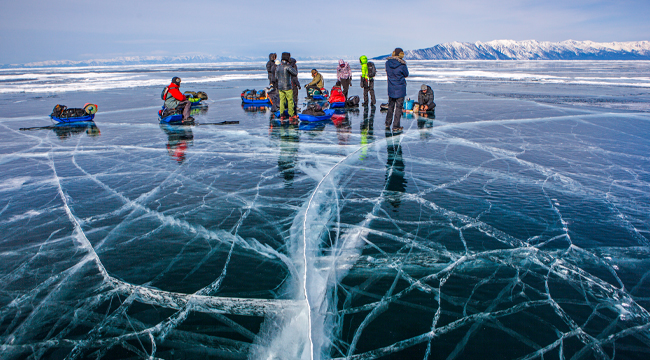 Grand Crossing of Lake Baikal Tour