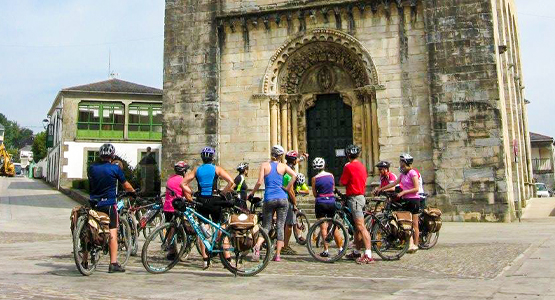 Cycling the French Camino from León to Santiago