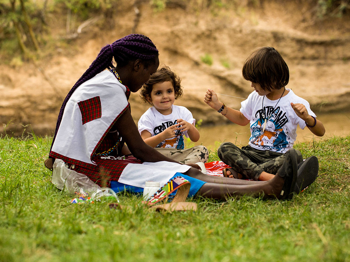 Tanazia and Kenia Safari includes several family friendly activities such as learning local arts