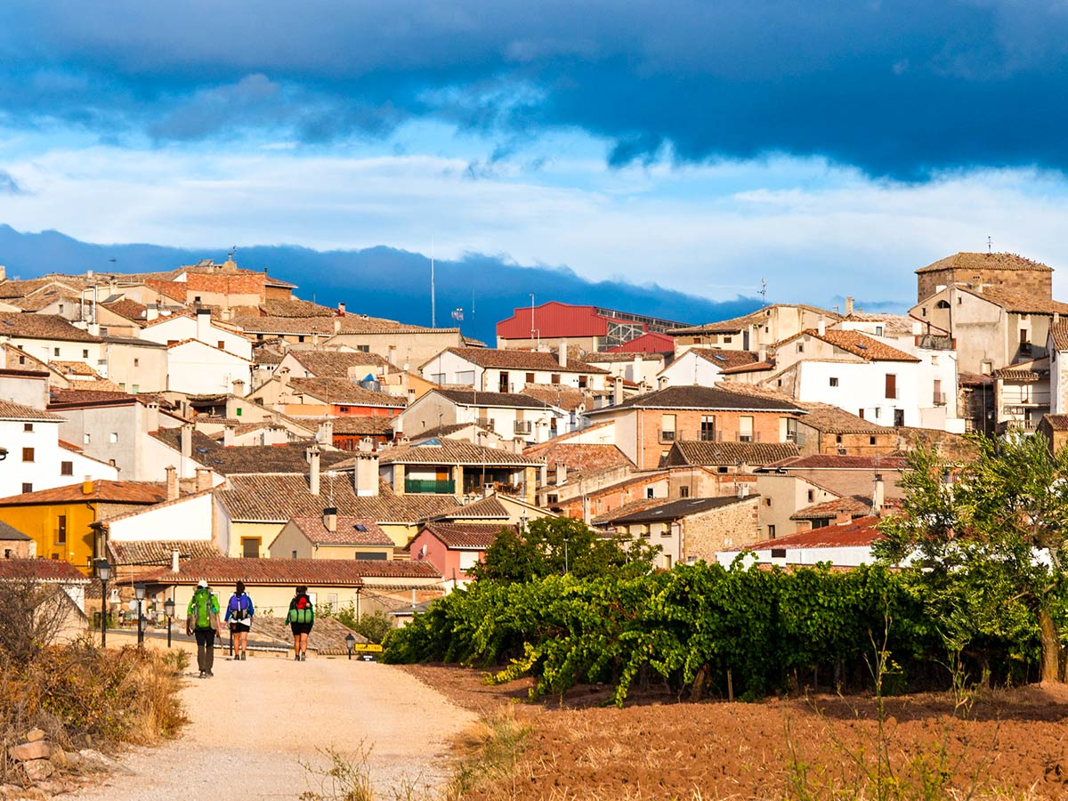 Beautiful town in Northern Spain visited while on French Camino Bike Tour