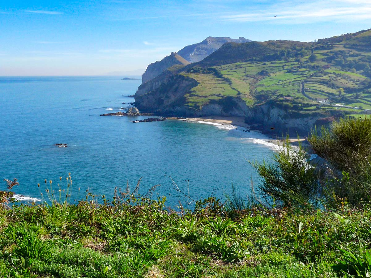Northern Way Trek Camino Norte includes visiting the beauitufl coast of Laredo