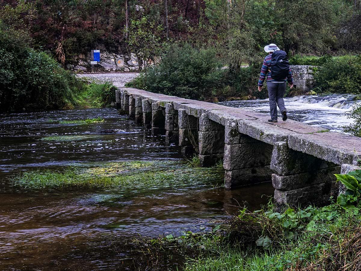 Lone hiker seen on Portuguese Coastal Way