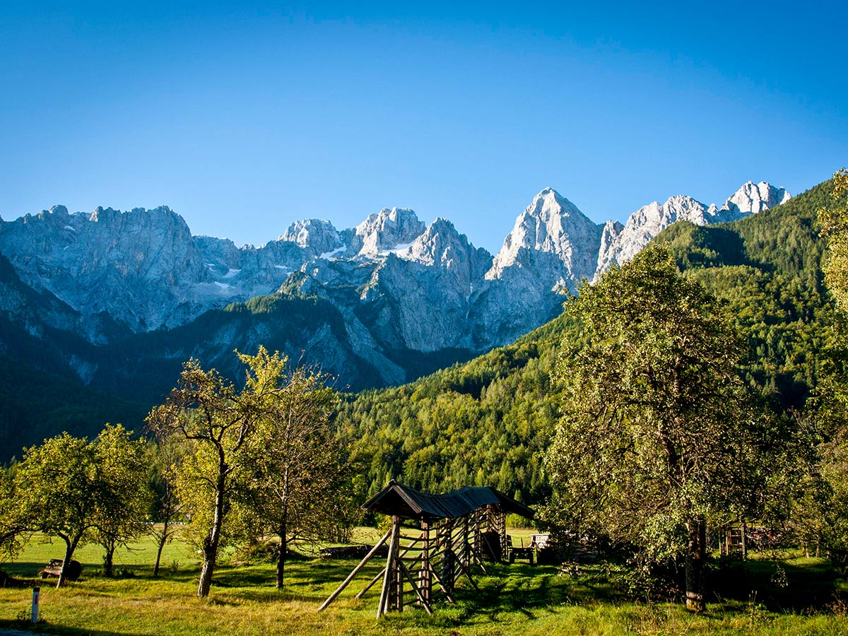 Discover Slovenian Alps Tour includes visiting the beautiful Soca Valley