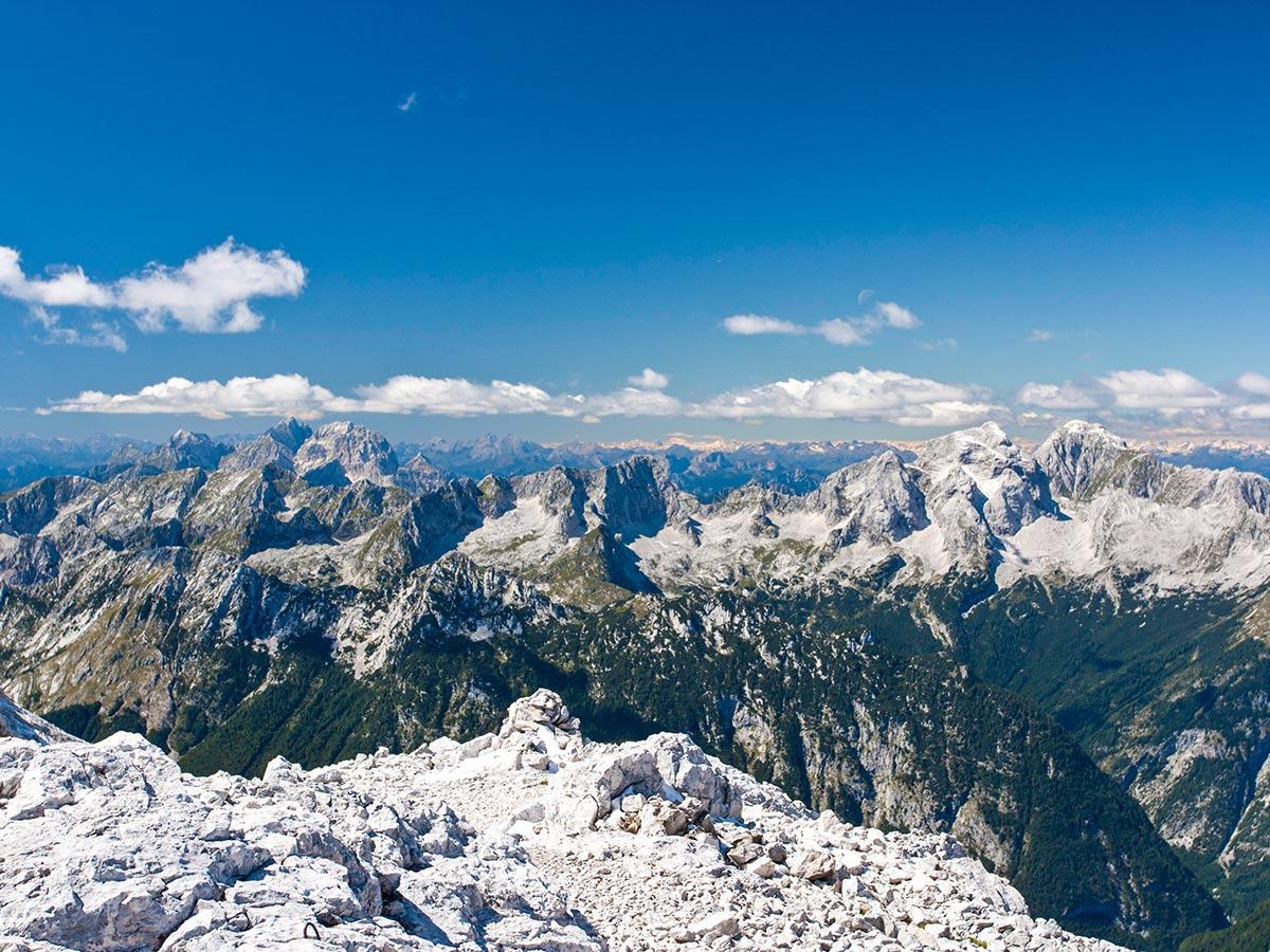 Views near Kanjavec Peak Slovenia