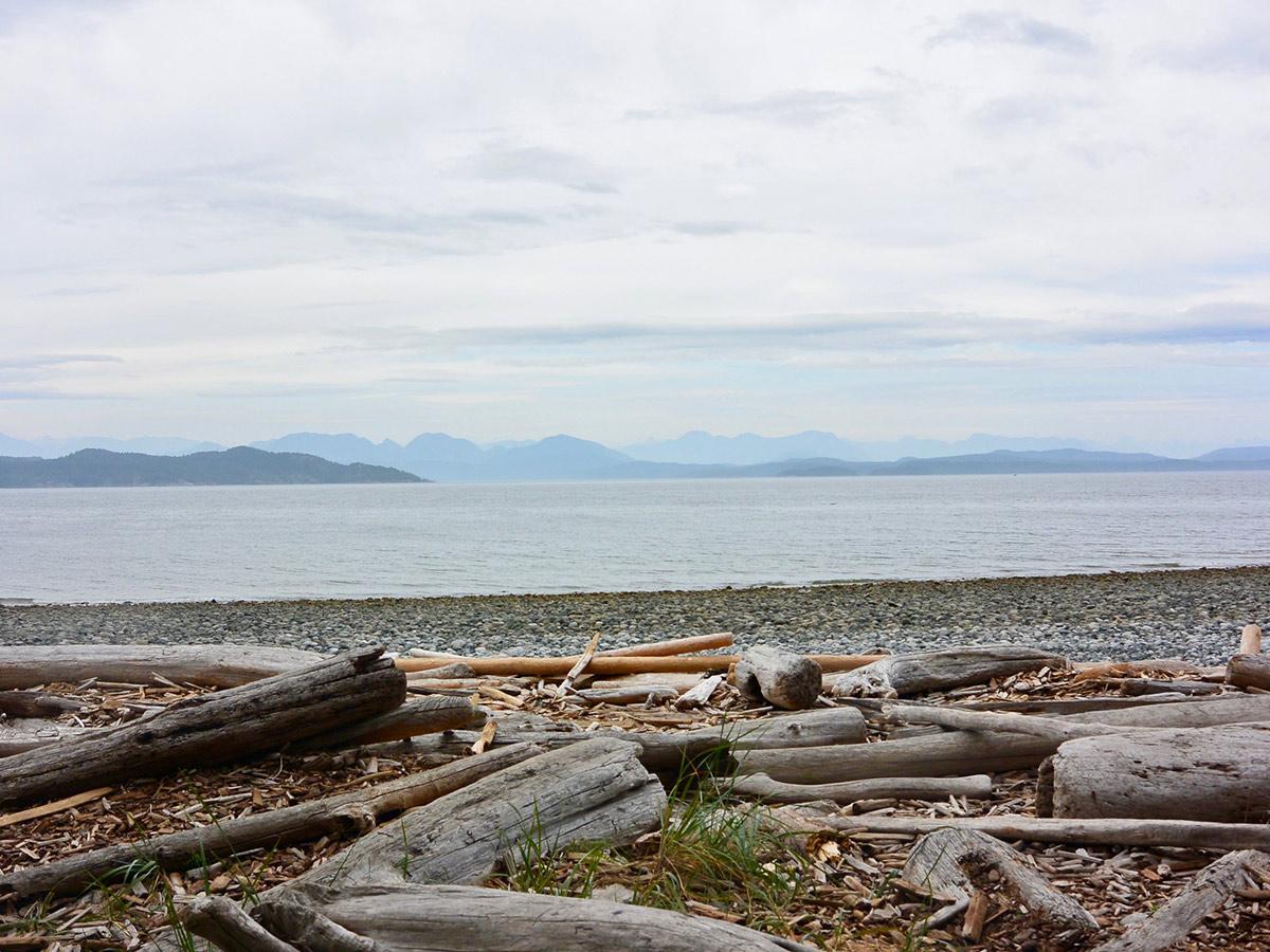 Island Joy Rides Self guided biking in Vancouver Island Beautiful views of Quadra Usland