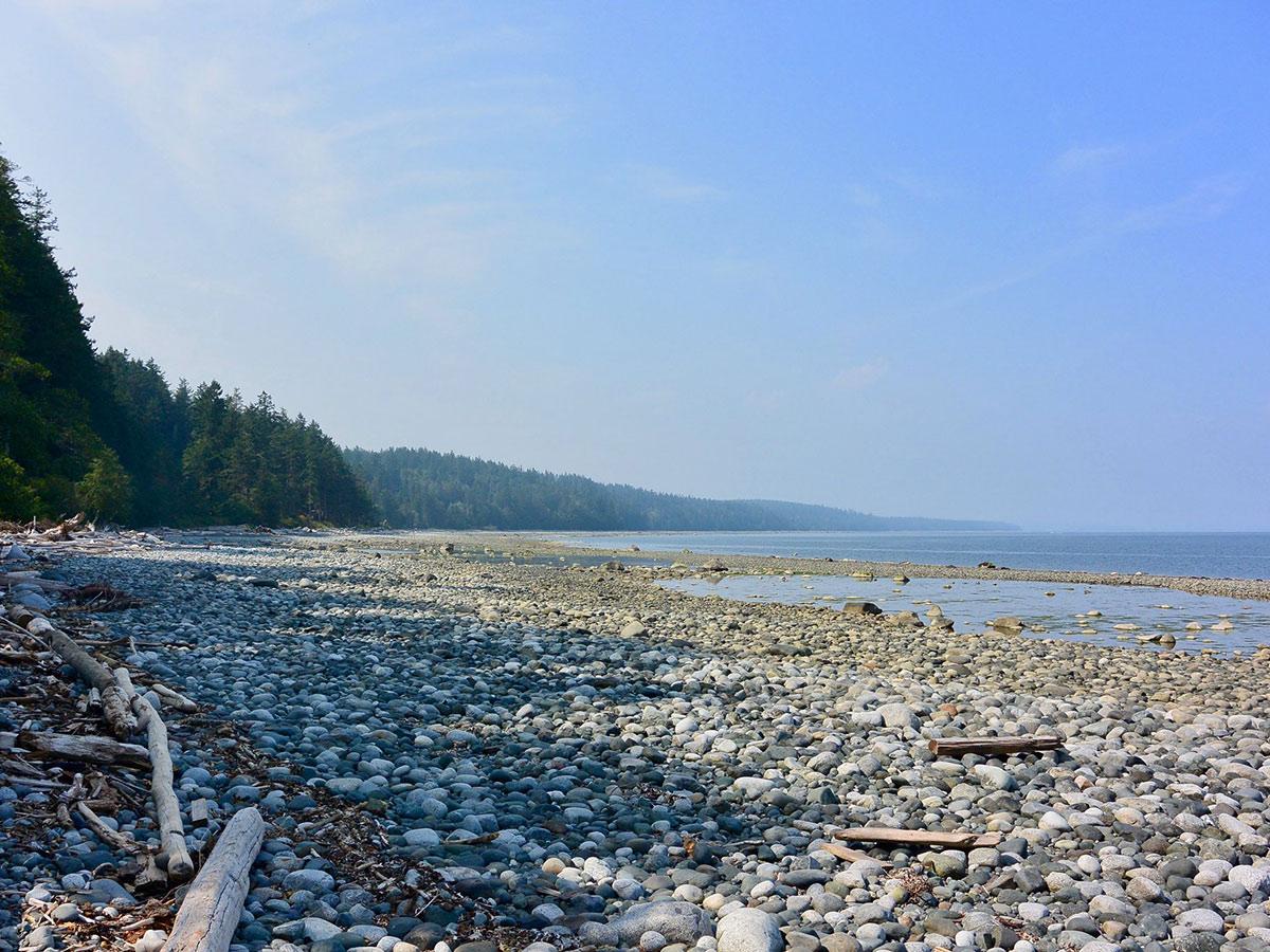 Island Joy Rides Self guided biking in Vancouver Island Quadra shore views on biking tour