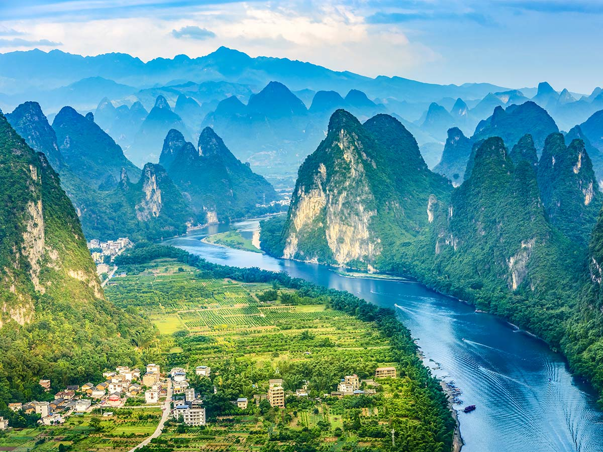 The best way to visit Yangshuo region in China is going on China by Bike and Backroads to Guilin Tour