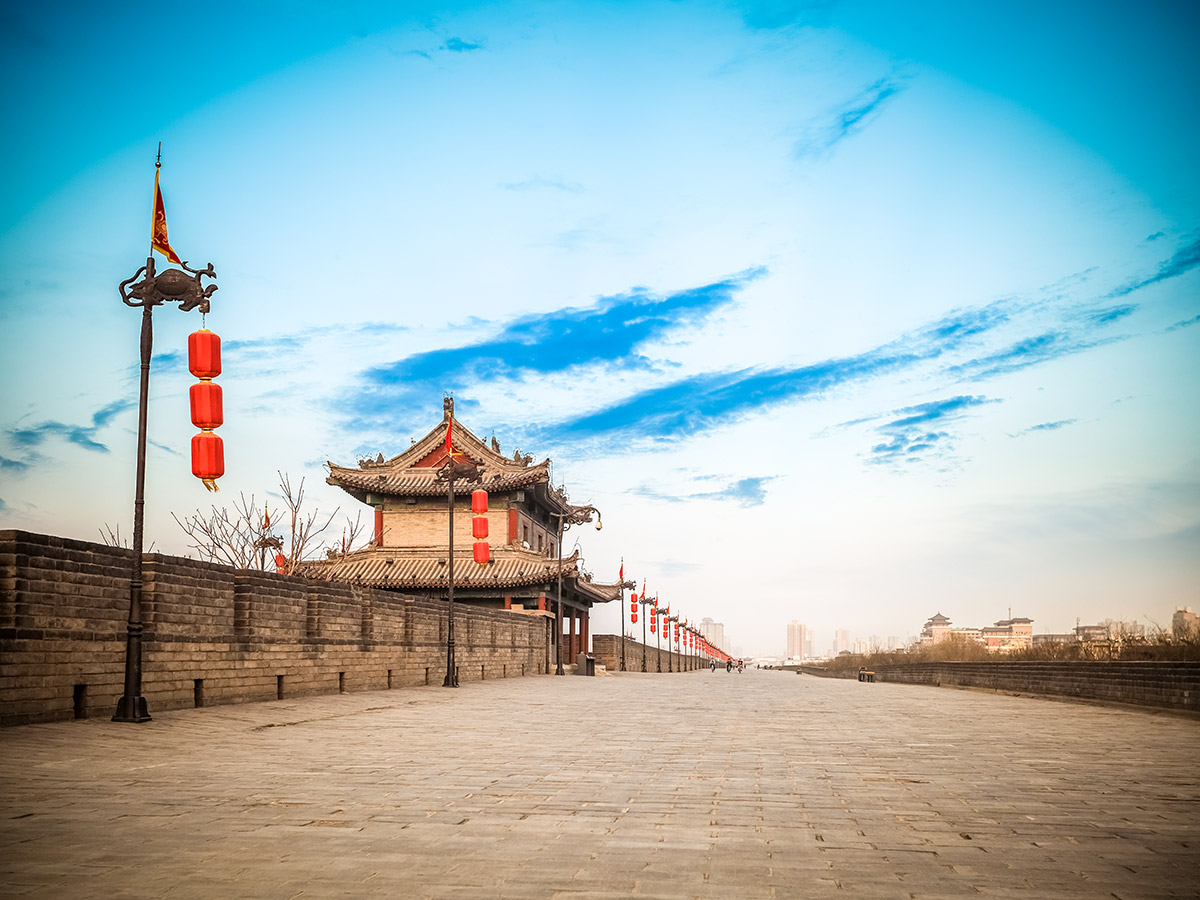 China by Bike and Backroads to Guilin Tour includes visiting the beautiful city of Xi'an