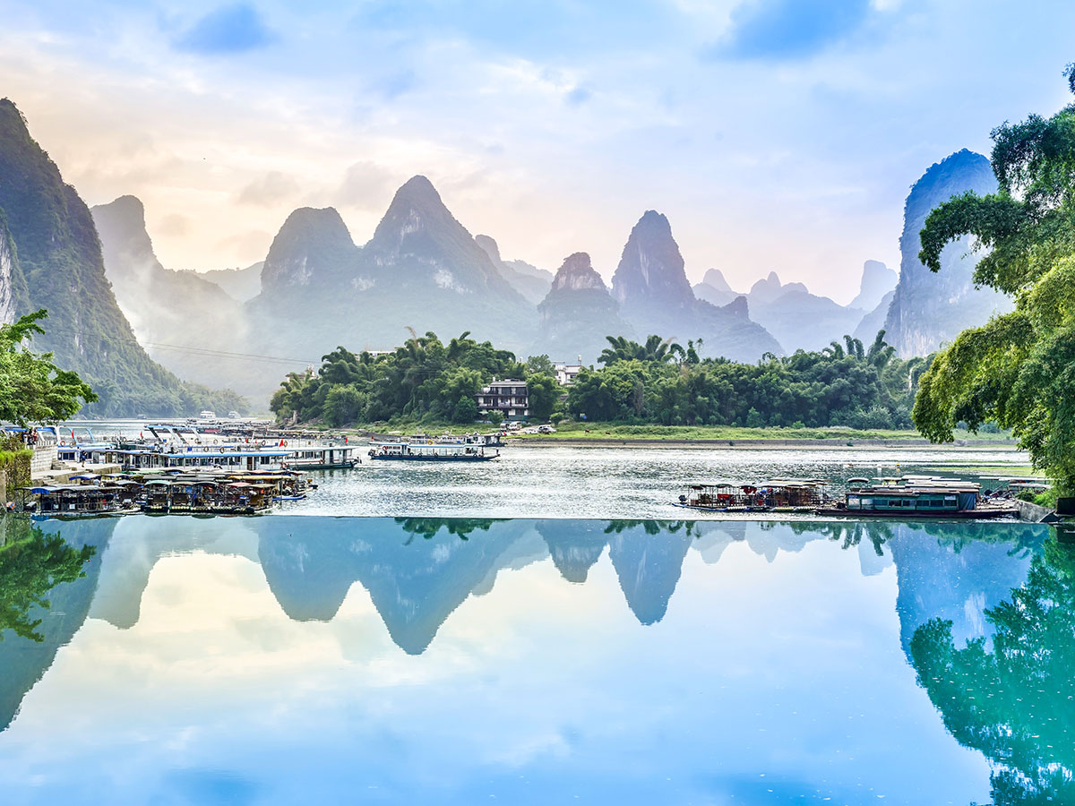 Yangshuo is included in China by Bike and Backroads to Guilin that visits the best of China