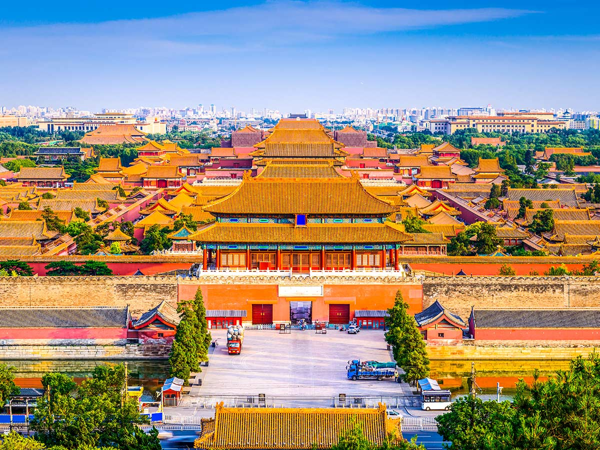 The Forbidden City is a must see in Beijing and is included in China Tibet Encompassed Tour
