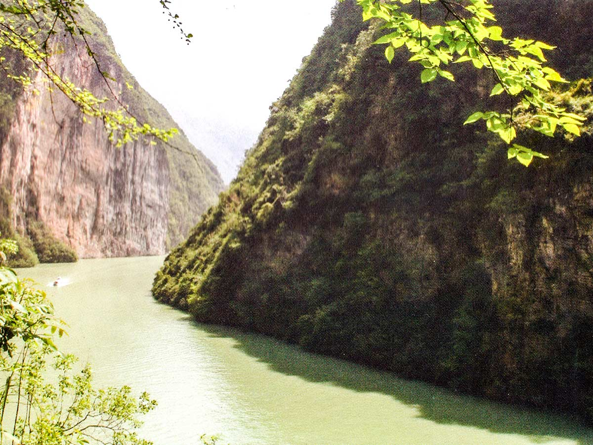 Yangtze River as seen on China Tibet Encompassed Tour in China