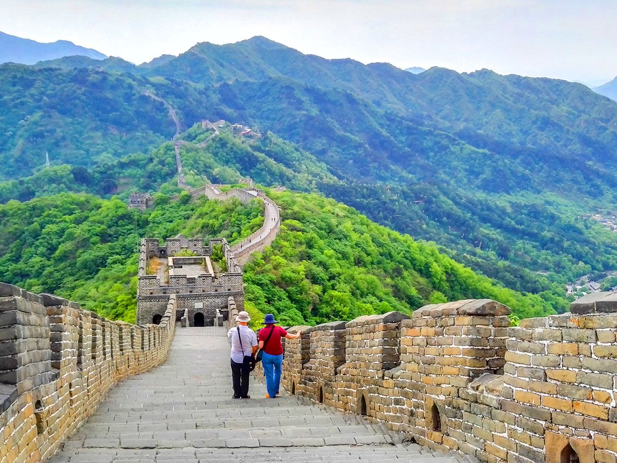 China Tibet Encompassed Tour includes visiting the famous Great Wall