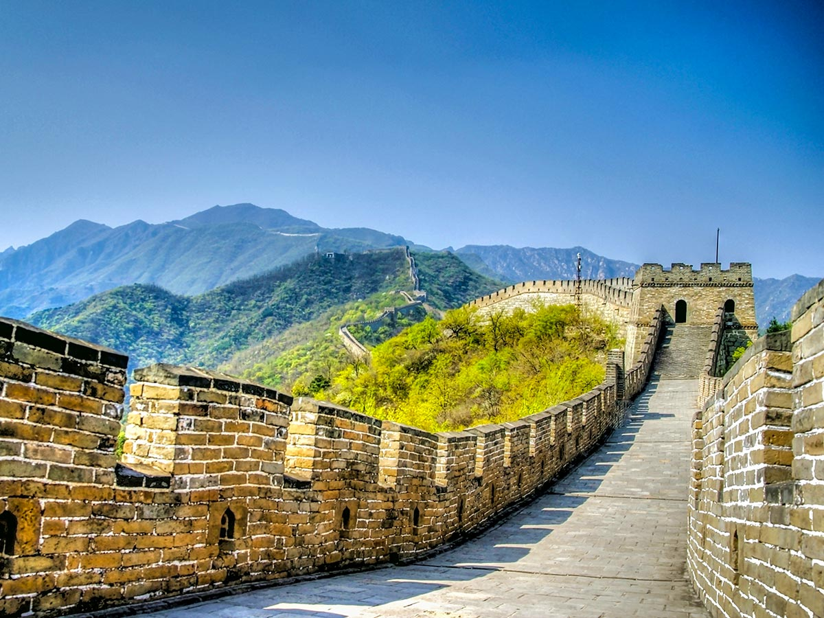 The Great Wall in China is included in China Tibet Encompassed Tour