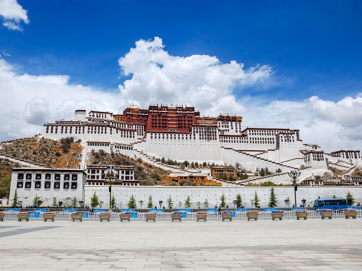 Potala Palace in Lhasa is a must see in China and is included in China Tibet Encompassed Tour