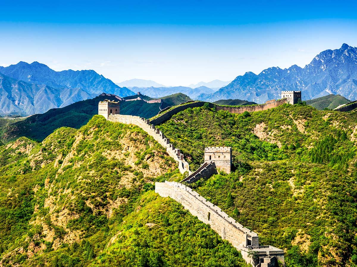 Visiting the Great Wall is included in Discover China Tour