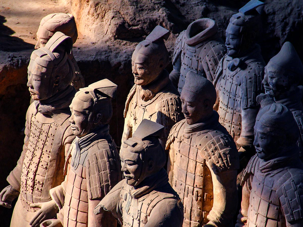 Discover China Tour includes visiting the Terracota Army at Xian