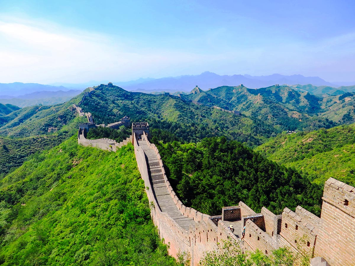 Visiting the great wall is the highlight of Wild China Tour