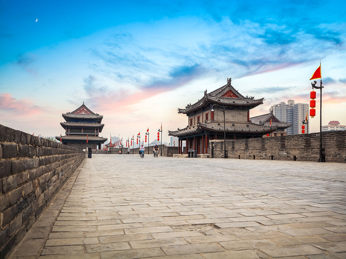 Wild China Tour includes visiting the city of Xian