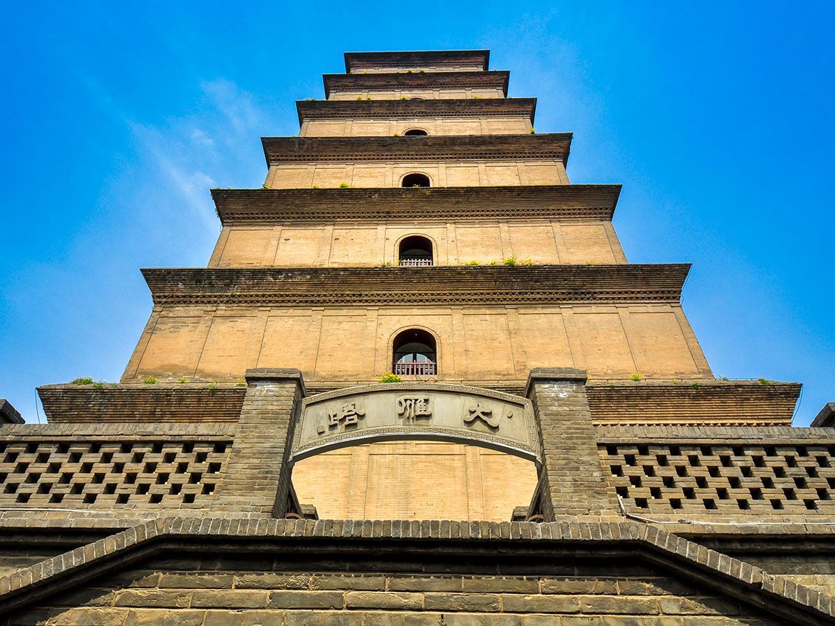 Xian city is full of beautiful architecture that can be seen on Wild China Tour