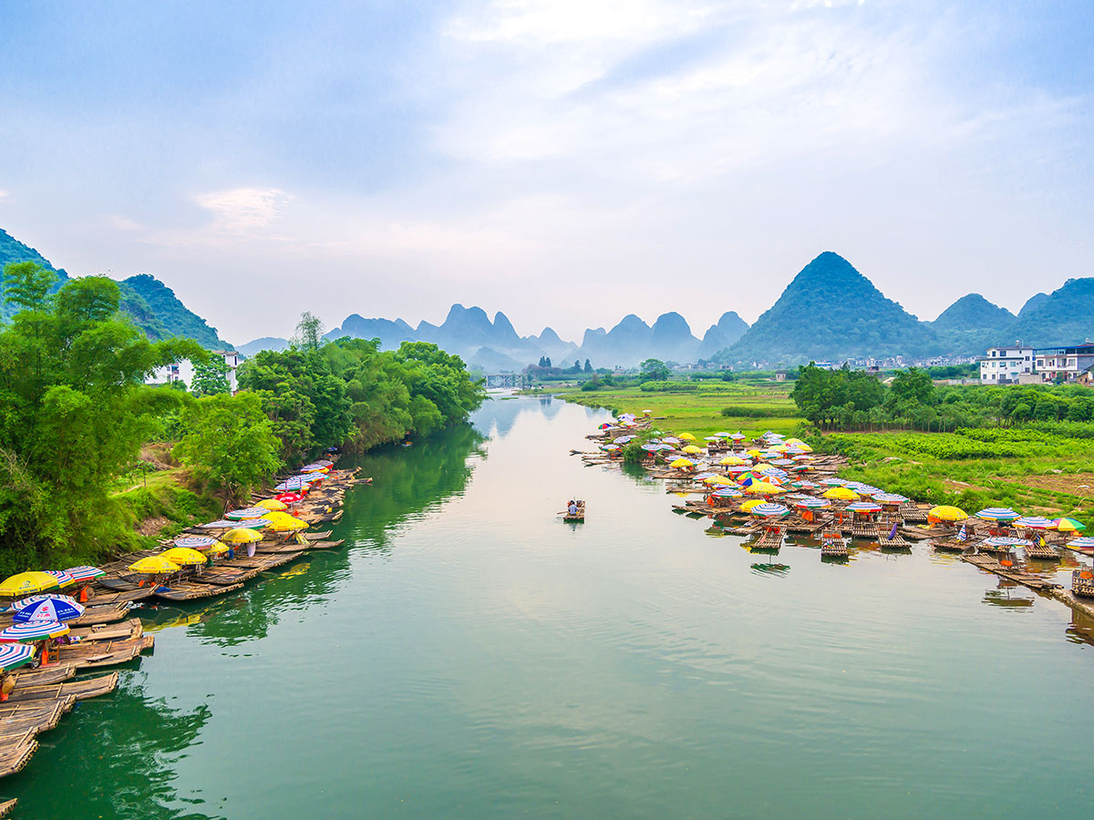 Yangshuo region is a must see for nature lovers and can be visited on Wild China Tour