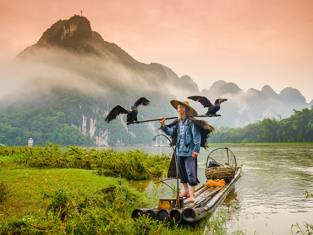 Visiting Yangshuo is included in Wild China Tour