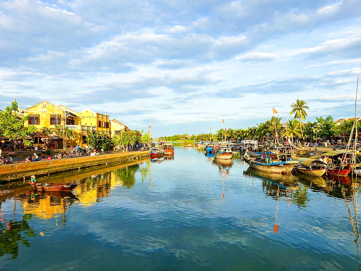 Vietnam Natural Treasure Tour visits many important locations in Vietnam including Hoi An Ancient Town