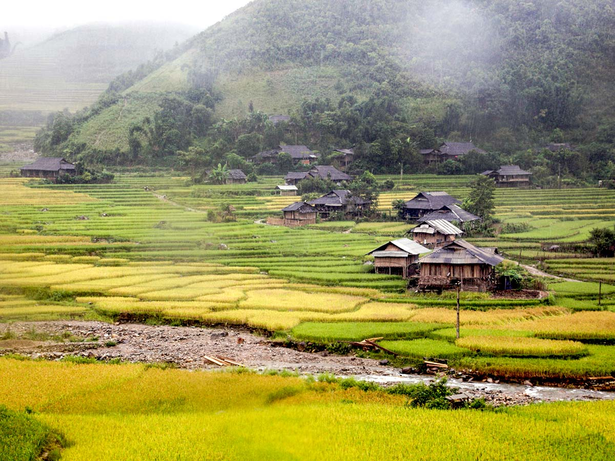 Northern Vietnam Mountain Biking Tour includes visiting Ha Giang
