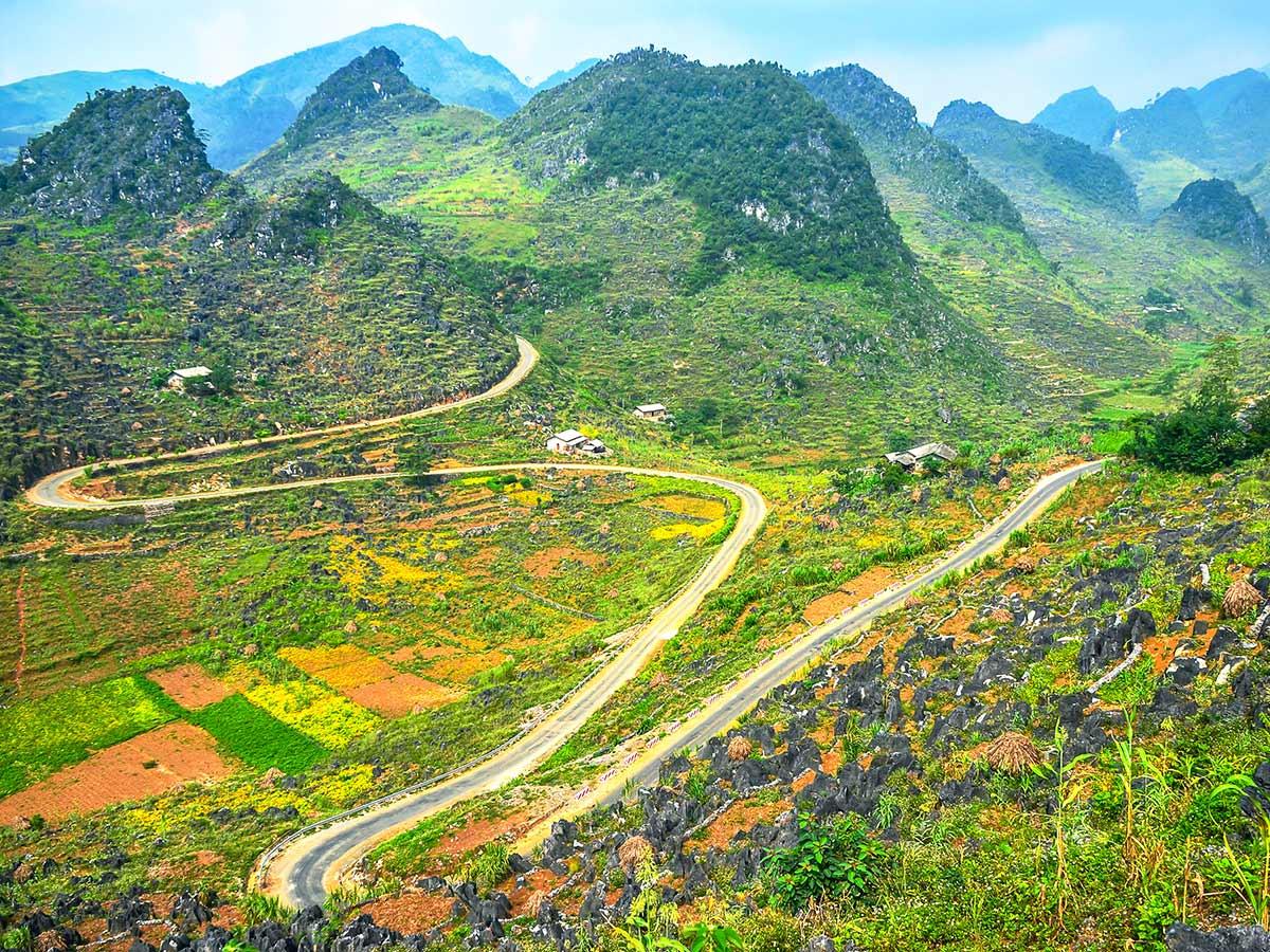 Northern Vietnam Trekking include visiting the beautiful Ha Giang