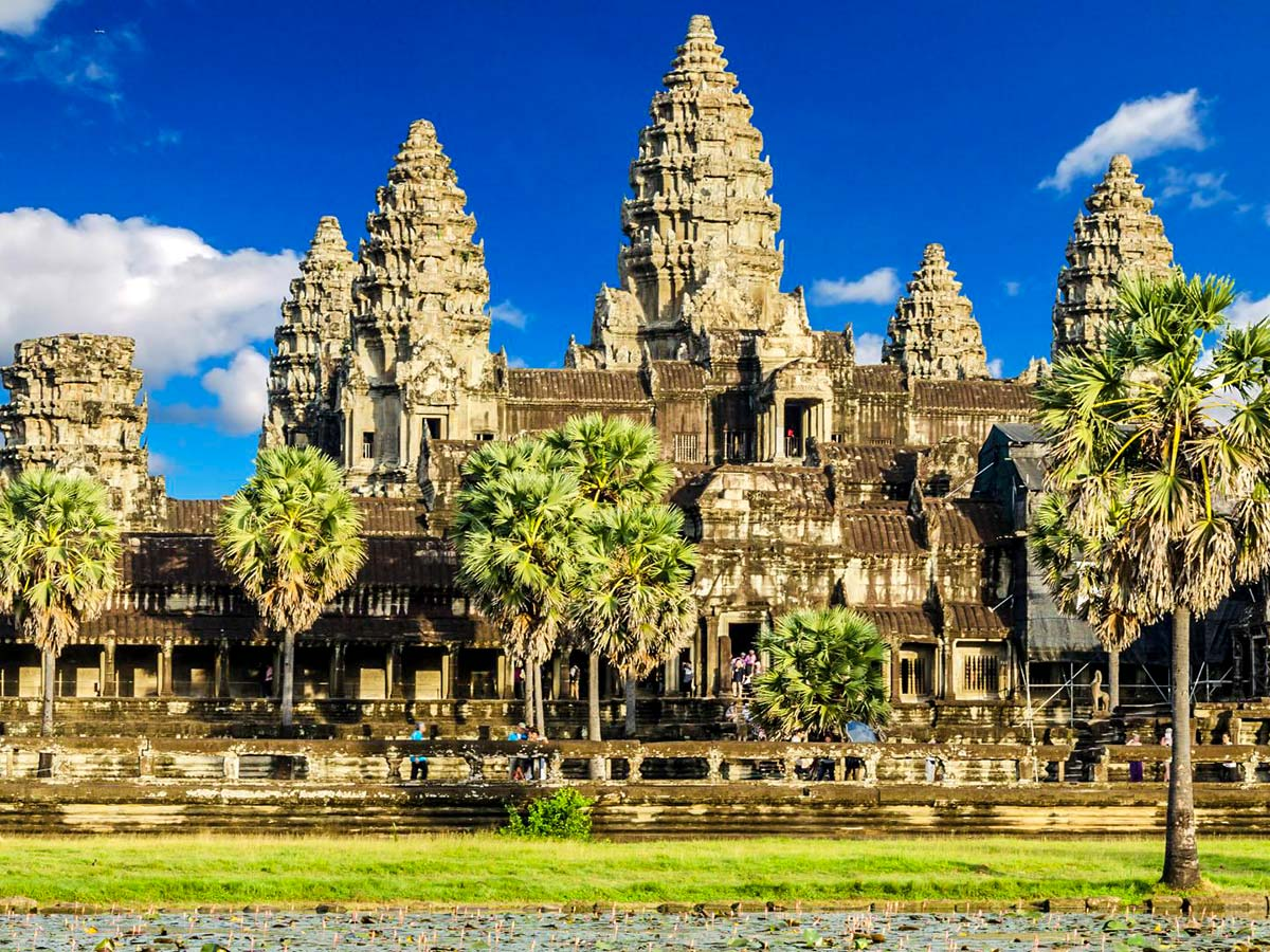 The Majestic Beauty of Indochina Tour is the best way to see Angkor Wat