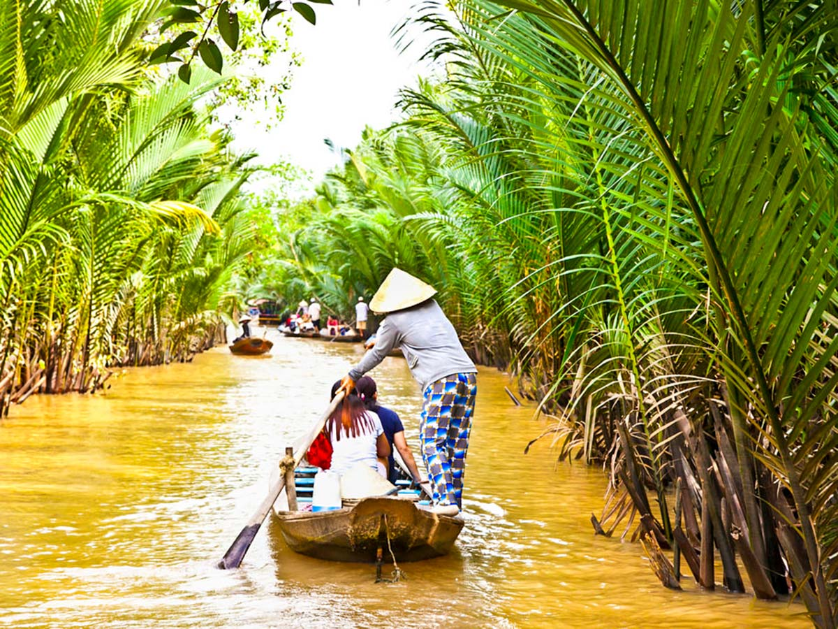 The Majestic Beauty of Indochina Tour include visiting the Mekong Delta