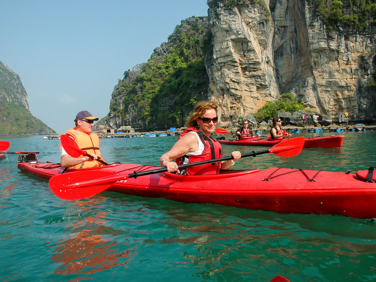 in Southern China Sea is the highlight of The Majestic Beauty of Indochina Tour
