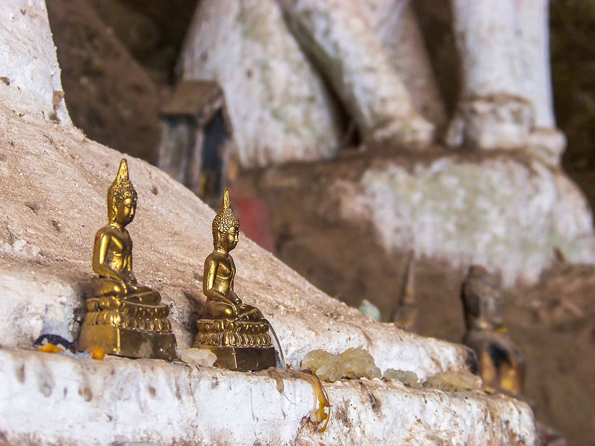 Buddah Statues seen on The Majestic Beauty of Indochina Tour In Vietnam Laos And Cambodia