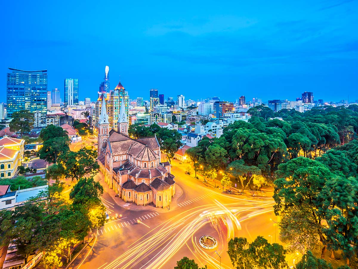 Hochiminh City is one of the highlights of the The Majestic Beauty of Indochina Tour