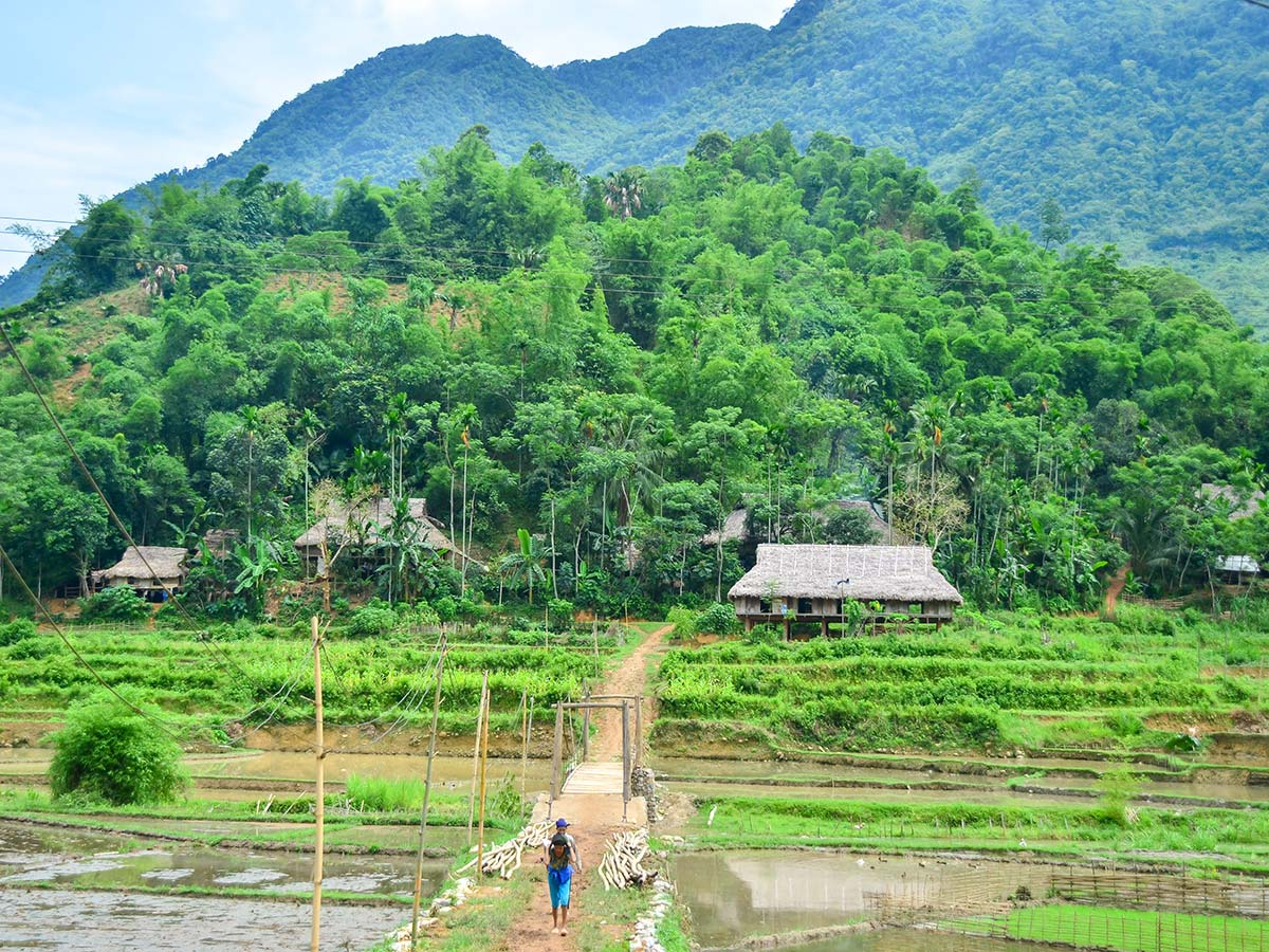 Pu Luong can be visited on The Majestic Beauty of Indochina Tour
