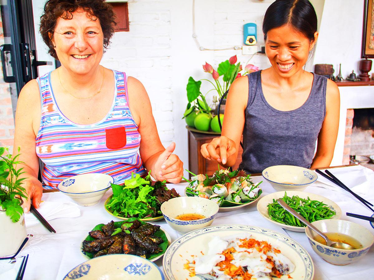 Vietnam Life and Cuisine Tour includes cooking classes