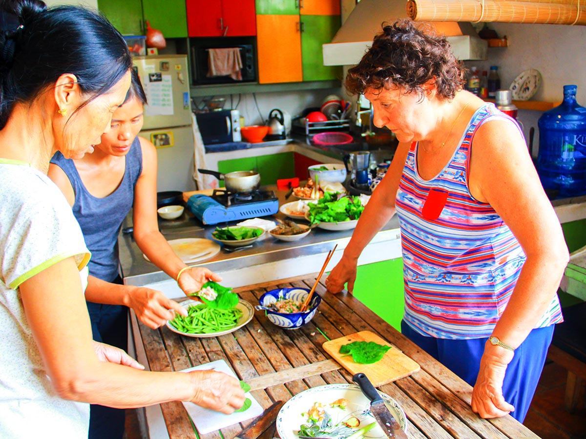 Learn about Vietnam Life and Cuisine by booking the tour that includes Cooking Class