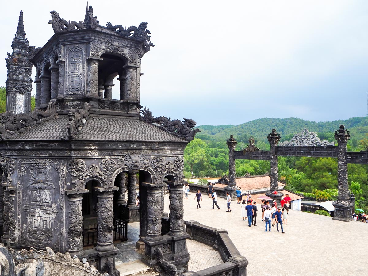 Minh Mang Tomb as seen on Vietnam Life and Cuisine Tour