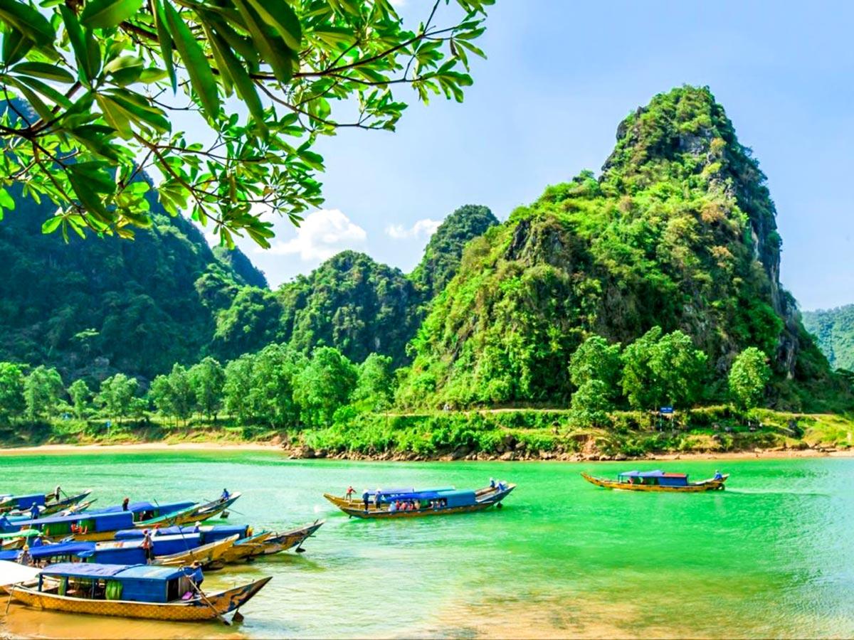 Phong Nha Ke Bang National Park visited on Vietnam Natural Treasure Tour
