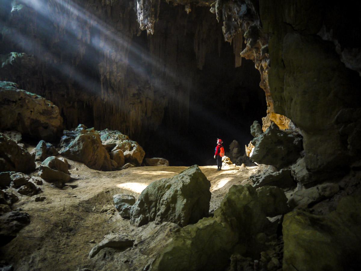 Vietnam Natural Treasure Tour includes visiting the famous Tu Lan cave