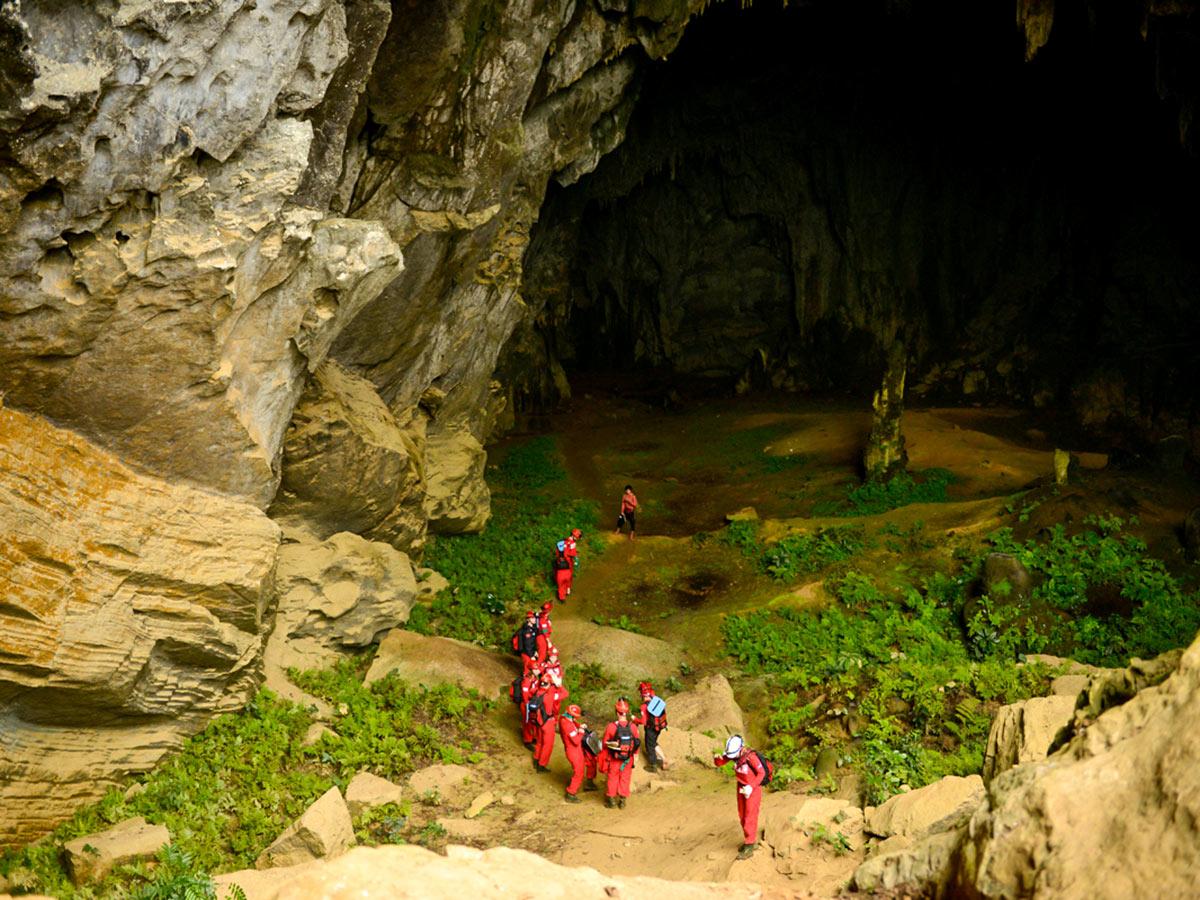 Tu Lan cave can be seen on Vietnam Natural Treasure Tour in Vietnam